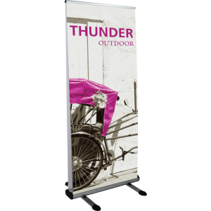 Thunder Outdoor Banner Stand